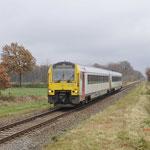 30 November 2017: Neerpelt / 4196 vanuit Hamont onderweg naar Antwerpen Centraal