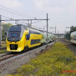 20 September 2014: Amsterdam Sloterdijk / 9556 NS als extra trein vanuit Amsterdam onderweg naar Haarlem ivm 175 jaar spoor