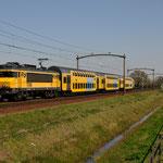 20 April 2015: Mierlo / 1748 Als Sprinter uit Deurne onderweg naar Nijmegen.