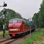11 Juli 2014: Simpelveld / Plan u 115 bij binnenkomst van Simpelveld.