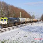 29 December 2014: Echt / 6601 CT Met een keteltrein onderweg naar Lutdsm