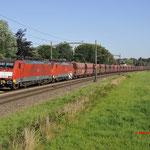 20 Juli 2016: Breda / 189 032,189 042 met ertstrein richting Venlo