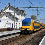 21 April 2016: Zevenbergen / 7635 Als ledig materieel vanuit de richting Dordrecht richting Roosendaal