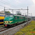 20 September 2014: Amsterdam Sloterdijk / 386,273 NSM als extra trein vanuit Amsterdam onderweg naar Haarlem ivm 175 jaar spoor