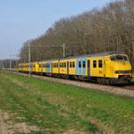 10 April 2015: Maasbracht / 944,480 Als sprinter vanuit Roermond naar Maastricht Randwijk.