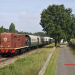 3 September 2016: Lieren / 2459 met trein 7 van Apeldoorn naar Beekbergen.