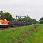 30 Mei 2013: Heeze/ 220 Locon met de huisvuiltrein uit Haanrade en maastricht opweg naar Wijster (50094)