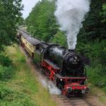 12 Juli 2015: Wijlre / 23 071 VSM Als trein 32109 bij vertrek uit Wijlre naar Simpelveld