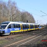 27 Februai 2016: Bottrop-Boy / VT 643 339, 643 431 Met RE14 naar Essen.