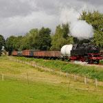 Eerbeek: 64 415 met goederentrein 773 van Loenen naar Eerbeek