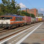 4 Oktober 2015: Eindhoven / 1837 (9903) Locon met Segrate-shuttle richting naar Moerdijk (41546).