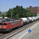 27 Mei 2017: Eindhoven / 1614 DBC met dolime trein richting Den Bosch.