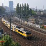 30 September 2014: Eindhoven / 1762 + DDAR 7338 onderweg vanuit de Amsterdam Zaanstraat naar Maastricht.
