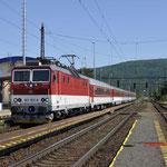 7 Juni 2016: Devínska Nová Ves /361 107 Met trein Os 864 naar Kuty