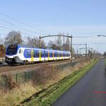 21 Januari 2018: Heukelom / 2521 als sprinter van weert naar Tilburg uni