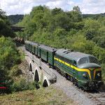 14 Augustus 2017: Dorrine-Durnal / 202 020 Met een extra fototrein richting Spontin.