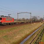 9 Maart 2014: Mierlo / 1612 DBS met Herik Rail Milaan shuttle 40298 naar Amsterdam.