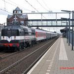 29 Augustus 2014 Helmond brandevoort / 1252 Met autoslaaptrein richting venlo.