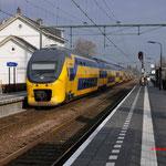 20 Januari 2016: Zevenbergen / 8633 Als intericity uit Lelystad naar Vlissingen.