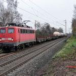 Bottrop Welheim: 139 309 DBS Met een Unit cargo onderweg richting Gelsenkirchen.