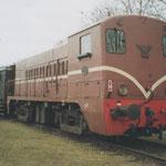Veghel: 28 Maart 2005 / VSM 2233 + Rijtuigen + VSM 23 071 klaar voor vertrek naar Boxtel.