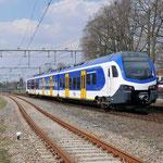 1 April 2016: Horst-Sevenum / 2201 Als testrit vanuit Maastricht via Eindhoven naar Venlo.