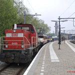 7 Mei 2017: Venlo / DBC 6465,Locon 9902,Locon 6703,NSM Kameel,NSM 2215 en rechts op de foto nog SMMR 2225.