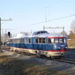 25 November 2016: Eindhoven / Kameel onderweg als trein 890020 van Eindhoven naar Blerick.