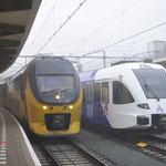 13 Januari 2018 : Maastricht / 8638 Als IC gereed voor vertrek naar Alkmaar , rechts arriva 426.