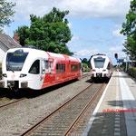 1 Juli 2014: Sauwerd / 238 Als stoptrein naar Groningen.