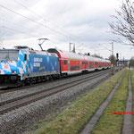 15 Maart 2016: Thungersheim / 146 246 Met een RE naar Frankfurt Hbf