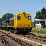 11 Juli 2015: Simpelveld / 2205 SHD Met 3 blokkendoos rijtuigen als trein 33003 naar Kerkrade