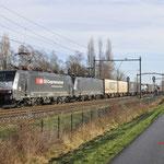 21 Januari 2018: Heukelom / 189 282,189 093 Met GTS Bologna shuttle richting Tilburg