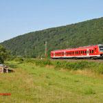 17 Juli 2014 : Wernfeld / 440 324 richting Gemunden am Main.