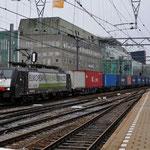 13 Februari 2014: Eindhoven / 189 103 RTB met een Blerick shuttle naar Blerick