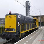 7 Mei 2017: Venlo / 2215 van het Spoorwegmuseum.