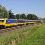 20 Juli 2016: Breda / 186 010 Met een IC direct van Amsterdam naar Breda