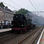 5 September 2014: Wolfheze / SSN 65 018 met een Klmos onderweg naar Dieren.