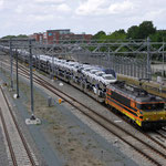 3 Juni 2015: Den Bosch / RRF 4401 met beladen BLG autotrein (Hyundai`s) richting Roosendaal.