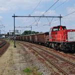 9 Juni 2015: Maastricht Randwijck / 6512 DBS Met een Schroottrein naar Genk.