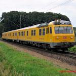 4 Juli 2014: Breyel / 719 501 DB Netz richting Viersen