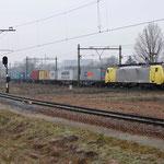 22 Januari 2015: Eindhoven / 189 206 RTB Met een blerick shuttle naar Blerick.