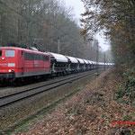 4 December 2014: Venlo / 151 076 DBS Met een Kalktrein naar Oberhausen.