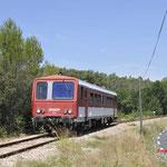 27 Juli 2016: Besse-sur-Issole / 2204 onderweg van Brignoles naar Carnoules.