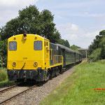 Simpelveld: 2205 SHD  Met trein 33004 van Kerkrade naar Simpelveld.