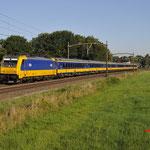 20 Juli 2016: Breda / 186 013 Met een IC Direct vanuit Amsterdam naar Breda