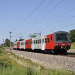 7 Juni 2016: Silberwald / 6020 319 Als S1 naar Ganserndorf