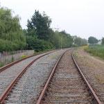 Veghel: 27 Juni 2009 / omloop spoor net over het kanaal. (nooit gebruikt)
