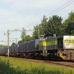 17 Juni 2010: Eindhoven/ 7108 ACTS Met de afval trein(50094) uit Han,Mttrix opweg naar de VAM in Wijster.