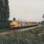 Boxtel : 30 Juli 1995 / NS 147 en achterop NS 128 onderweg richting Boxtel.